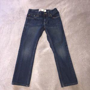 NWOT Boy Levi's 511 Dark Blue Slim Fit Jeans